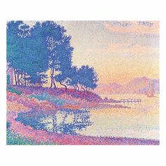 Known as a Post-Impressionist and Divisionist painter, Paul Signac is a lover of landscapes. While traveling this European Coast he captured the light and color of some of the world's most beautiful seascapes and landscapes. Signac's depictions of nature are among the most recognizable in the art world.   An Cove in Saint-Tropez, Paul Signac, 1926, Private collection.  #art4today #fiorebrownartgroup #impressionism #divisionism #paulsignac #contemporaryart #art #color