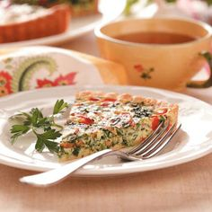 Top 10 Quiche Recipes from Taste of Home, including Pepperoni Spinach Quiche