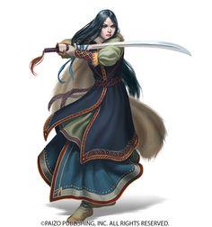 warrior, fighter, pathfinder, paizo