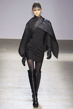 Gareth Pugh Fall 2010. Dress. Cape. All.