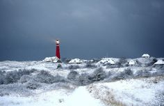 winter op schiermonnikoog