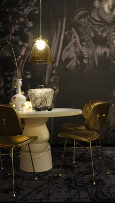 Golden by Nika Zupanc for Moooi @ iSaloni Milan 2013 | Luxury Interiors, High End Furniture, Interior Design, Exclusive Furniture, Designer Furniture, Luxury Interiors, Luxury Homes, Home Decor