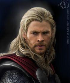 Thor by eleathyra.deviantart.com on @deviantART