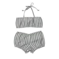 cute retro bathing suit for the baby girl!