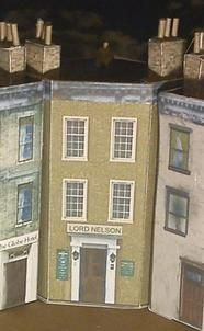 """""""LORD NELSON"""" corner building"""