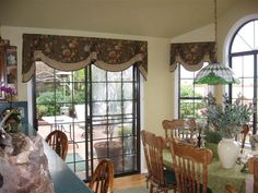 idea for the patio door/window in the living room #inspiration