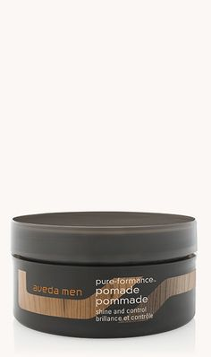 aveda men pure-formance™ pomade    ★★★★★  ★★★★★  4.6 out of 5 stars. Read reviews. 4.6  (59) Write a review  . This action will open a modal dialog. Provides strong, pliable hold with excellent control. Water-based, non-greasy formula hydrates, while adding texture and definition.  2.5 fl oz/75 ml Purchase One Time  ? Earn 365 Pure Privilege Points  CA $36.50