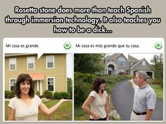 Learning Spanish With Rosetta Stone #chistes #Jokes