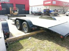 NEW 7K Magnum Flatbed 82x 18' Car Hauler Trailer, Powder Coated  #Tulsa #brokenarrow #hitchit #trailersales #trailer ONLY Northeast Oklahoma Trailer Dealers for Lark, Haulmark, Rice and Big Tex Trailers!  Hitch It Trailers, Parts, Service & Truck Accessories 305 W. Kenosha, Broken Arrow, OK 74012 918-286-7900 www.HitchItBA.com www.facebook.com/hitchit www.facebook.com/tulsatrailersales