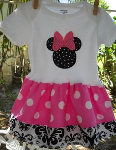 Minnie Mouse!!! Perfect for when we take her to Disneyland!
