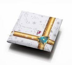 J-Point Group Christmas Card by Polina Mineva, via Behance Prints, Group