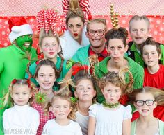 I want to have a grinch whoville party!!! Who Family Pictures vintagerevivals.com