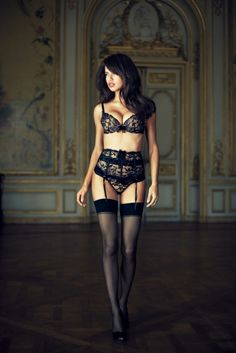 This is one of my favorite lingerie outfits from Victoria's Secret. Possible inspiration for background replacement.