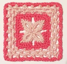 "Day 3: 6"" Block of the Day Pick - Forever Lace by Donna Kay Lacey Free Pattern: http://donnakaylacey.com/free-pattern-downloads/forever-lace-6-block-pattern/ June 2013 #TheCrochetLounge #6""Square Pick"