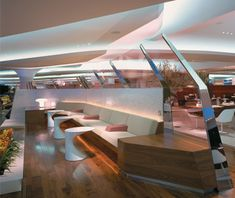 Virgin Upper Class Lounge, Heathrow Airport. Very good chance I will never visit, but never is a strong word.