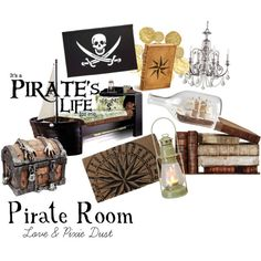 Could Go To The Thrift Store For Old Books And Hollow Them Out And Put  Secret · Pirate BathroomPirate NurseryNeverland NurseryPirate DecorPirate  ...