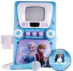 Frozen Karaoke Machine