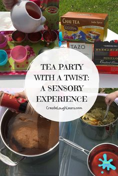 Add a fun twist to your next tea party. Stir, brew, shake, sniff, and pour! Come have fun with us!