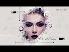 Scifi Abstract Art | Photoshop Tutorial | click3d - YouTube Photo Manipulation Tutorial, Photoshop Brushes, Photoshop Tutorial, Motion Graphics, Signage, Graphic Design, Ui Design, Abstract Art, Sci Fi