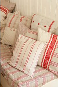 antique and vintage linen, textiles, haberdashery