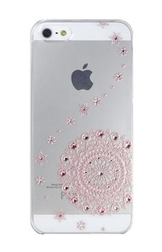 Clear Line Pink Lace for iPhone5