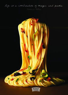 Life is a combination of magic and pasta. - Federico Fellini