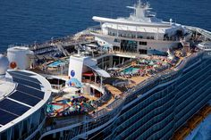 Will the Biggest Cruise Ship Ever Built Change Cruising Forever? (45 Pictures)  The Split Superstructure Means there Is Double The Fun Up On Deck
