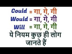 Would, Will and Could का नियम - Learn Basic English Grammar through Hindi English Grammar Basic, Teaching English Grammar, English Grammar Worksheets, English Writing, English Vinglish, English Speaking Practice, English Learning Spoken, Learn English Words, Good Vocabulary Words