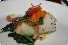 Sea Bass at Pizza Rustica