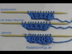 Stricken lernen - Maschenanschlag Maschen anschlagen Anschlag 3 Arten - Veronika Hug - YouTube