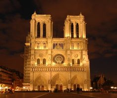 Norte Dame, Paris France. so gorgeous.