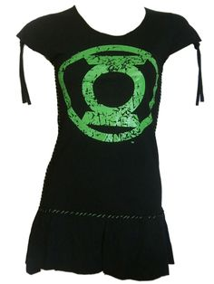 Sale Clearance 60% Off Poizen Industries Green Lantern Dress Top S M L Green Lantern BIG SALE NOW ON AT mouseyessim on ebay