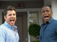 James Roday and Dulé Hill as Shawn and Gus. Best ever.