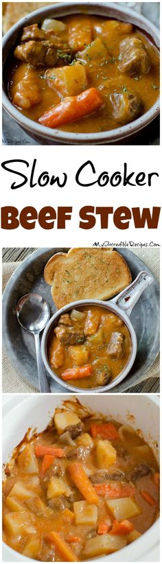 Slow Cooker Beef Stew!