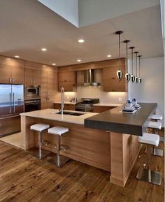 Beautiful Modern Contemporary Kitchen Design By Maric Homes.