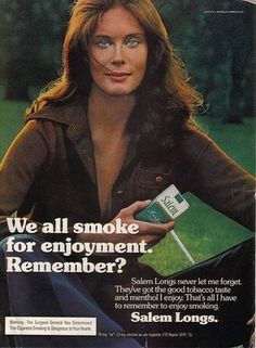 Vintage Tobacco/ Cigarette Ads of the (Page Retro Advertising, Retro Ads, Vintage Advertisements, Anti Tabaco, Vintage Cigarette Ads, Virginia Slims, Pub Vintage, Mustache Men, Best Ads