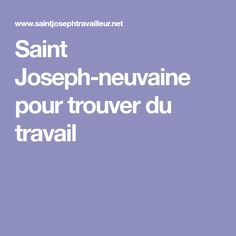 Saint Joseph-neuvaine pour trouver du travail St Joseph, Spiritus, Crochet, St Joseph Prayer, Deliverance Prayers, Catholic Prayers, Powerful Prayers, Prayer Board, Prayer Of Protection