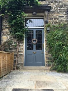 Ideas For Traditional Front Door Entrance Farrow Ball Farrow And Ball Front Door Colours, Yellow Front Doors, Front Door Paint Colors, Painted Front Doors, Front Door Design, Paint Colours, Cottage Front Doors, Victorian Front Doors, House Front Door