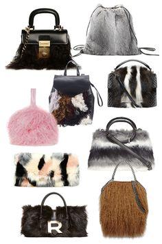 Fall Trends- Fur Handbags