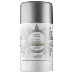 What it is: An award-winning, aluminum-free, high-performance deodorant.  What it is formulated to do:  This deodorant was created for life in motion. Lavanilla's proprietary, award-winning beta glucan technology is infused with SmartSport™