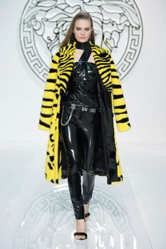 Versace Fashion Show Collection Fall/Winter 2013 www.alaloumboutique.com