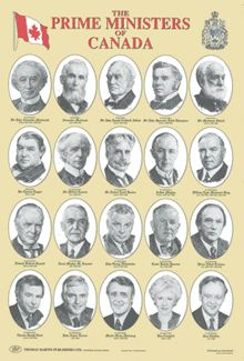 Poster of prime ministers of Canada Prime Minister, Canada, Poster, Posters