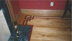 Legendary Hardwood Floors_Borders_French Knot - Cumarru, Curly Maple and Jatoba