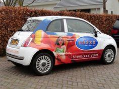 #autobelettering #carwrap; Opvallend en kleurrijk!