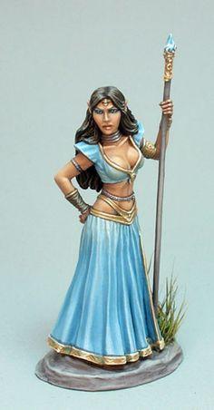 Female Elven Princess - Elmore Masterworks - Miniature Lines