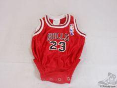 Vtg 90s Champion Chicago Bulls Michael Jordan Jersey Outfit sz 6 - 9 mos Newborn #Champion #ChicagoBulls #tcpkickz