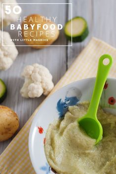 Baby food recipe zucchini puree from little mashies reusable food little mashies cauliflower zucchini potato puree best 50 healthy baby food recipes download forumfinder Choice Image