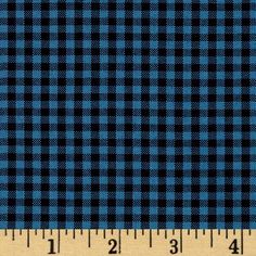 """Kaufman 1/8"""" Carolina Gingham Indigo from @fabricdotcom  From Kaufman, this woven yarn dyed gingham fabric is great for blouses, dresses, skirts and children's apparel. It can also be used for quilting projects. Checks measure 1'' and the horizontal and vertical plaid repeat is 1/2''. Colors include chambray and navy. Remember to allow extra yardage for pattern matching."""
