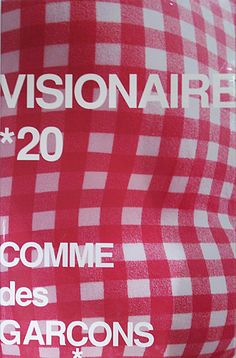 "Book ""VISIONAIRE*20 COMME des GARÇONS"", Visionaire Publishing, Limited Edition 2800 copies, incl.""six 1/4"", Guest Editor: Rei Kawakubo, Photo: Bruce Weber, Peter Lindbergh, Karl Lagerfeld, Nick Knight, Paolo Roversi, Philip-Lorca Dicorcia, Art Director: Tsuguya Inoue, 1997"