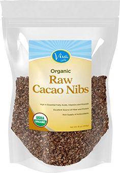 Viva Labs Organic Cacao Nibs: Raw, Unsweetened and Non-GMO, 1lb Bag Viva Labs http://www.amazon.com/dp/B00MGW81YM/ref=cm_sw_r_pi_dp_l-cnvb0EA2Q7K